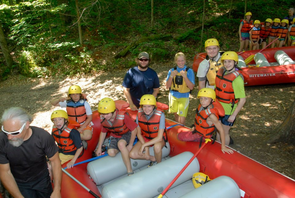 Whitewater Rafting Trip 2017